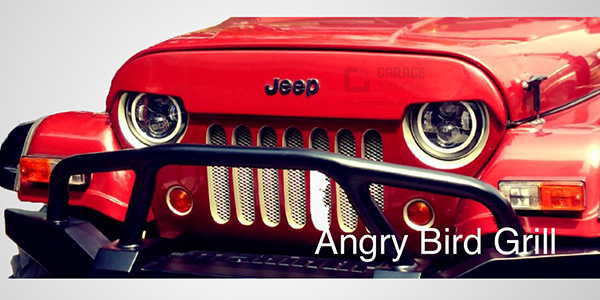 Grill- angry bird