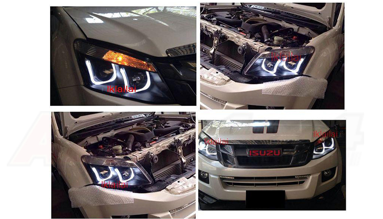 HEAD LAMPS (EAGLE EYE) DRL
